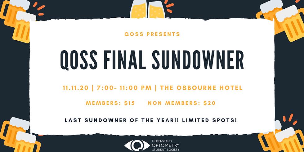 QOSS Final Sundowner
