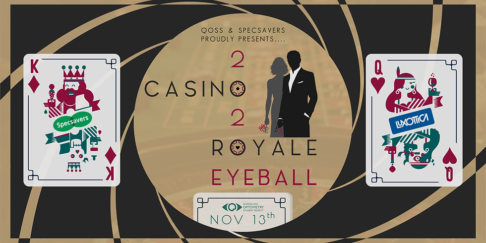 QOSS X Specsavers 2020 Eyeball: Casino Royale