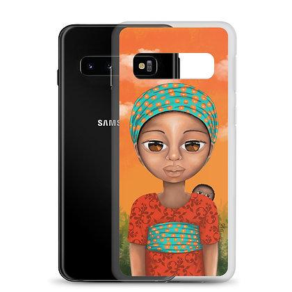 """Coque Samsung """"Bébé curieux"""""""