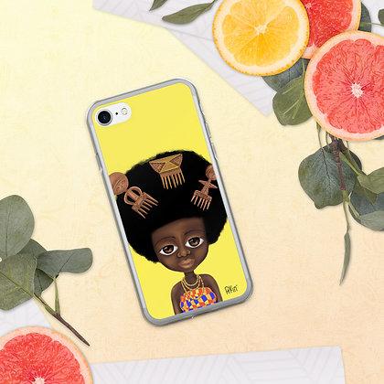 """Coque pour iPhone """"Trois peignes"""""""