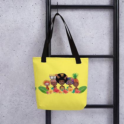 "Tote bag ""Pikin Team"""