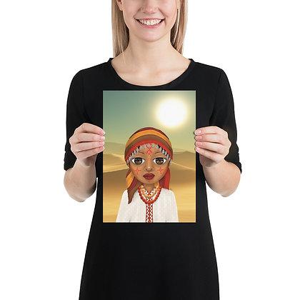 """Poster """"Beauté Amazigh"""""""
