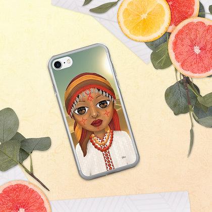 """Coque pour iPhone """"Beauté Amazigh"""""""