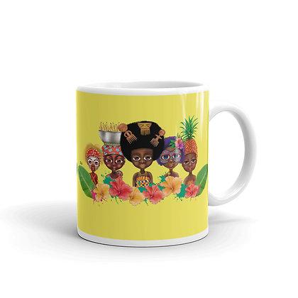 """Mug """"Pikin team"""""""