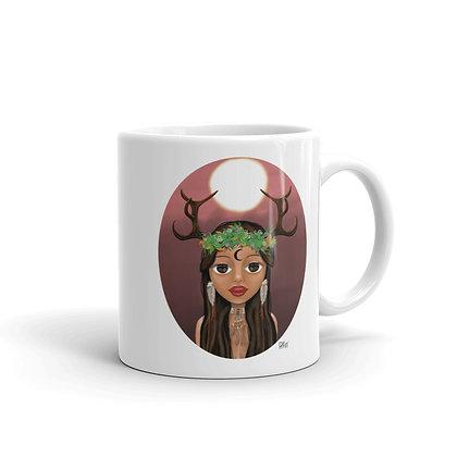 "Mug ""fille de la lune"""