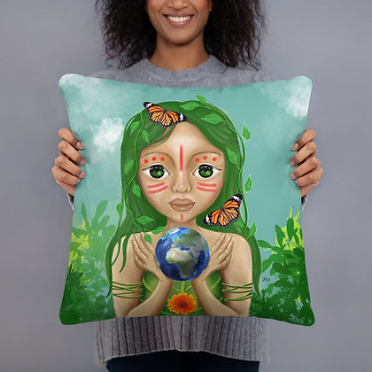 """Coussin """"Pachamama"""""""