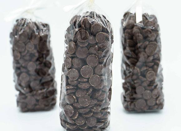 Pepitas de chocolate ORIGEN MADAGASCAR Bolsa 250gr.