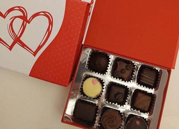 Caja pequeña bombones San Valentin