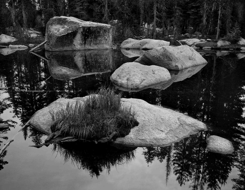 Pond, May Lake Trailhead 2014