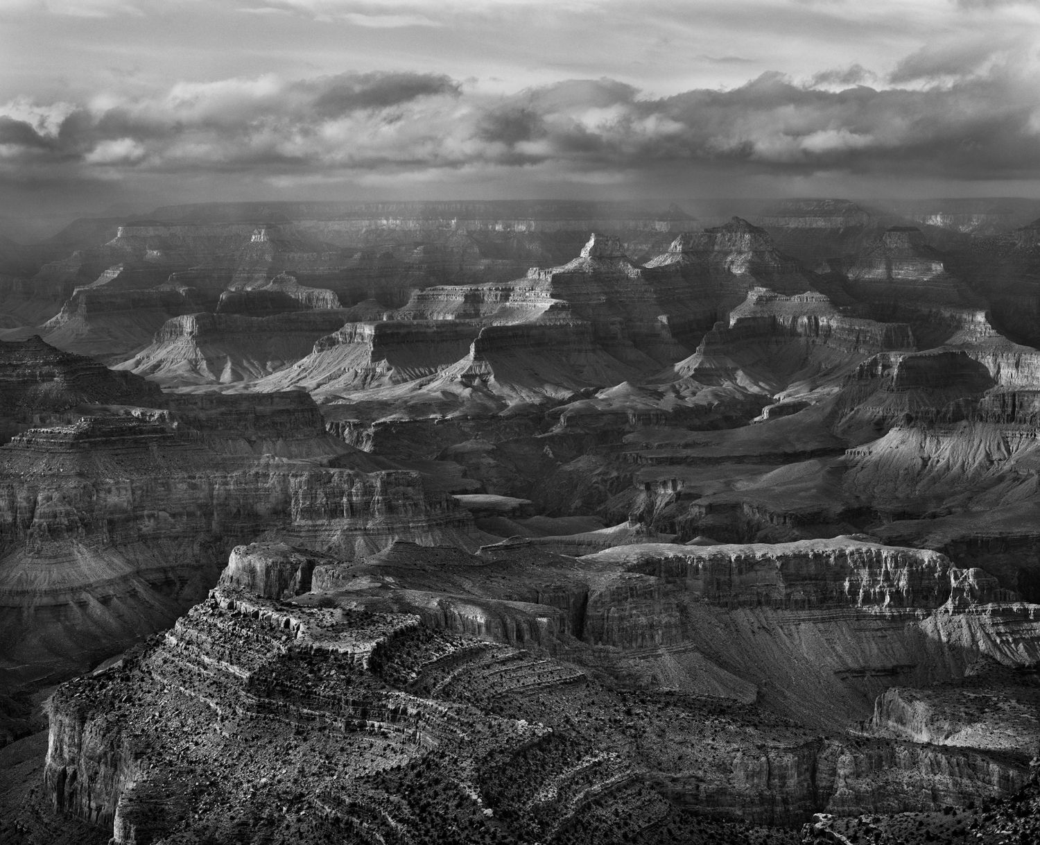 Winter Storm, Grand Canyon 2001