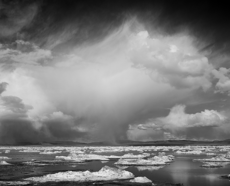 Spring Storm, Mono Lake 2001