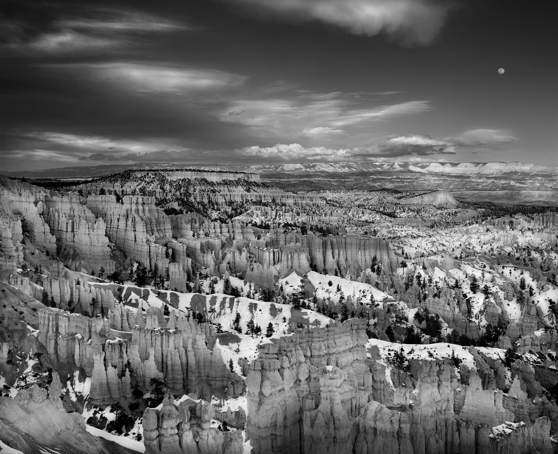 Winter Moonrise, Bryce Canyon 2001