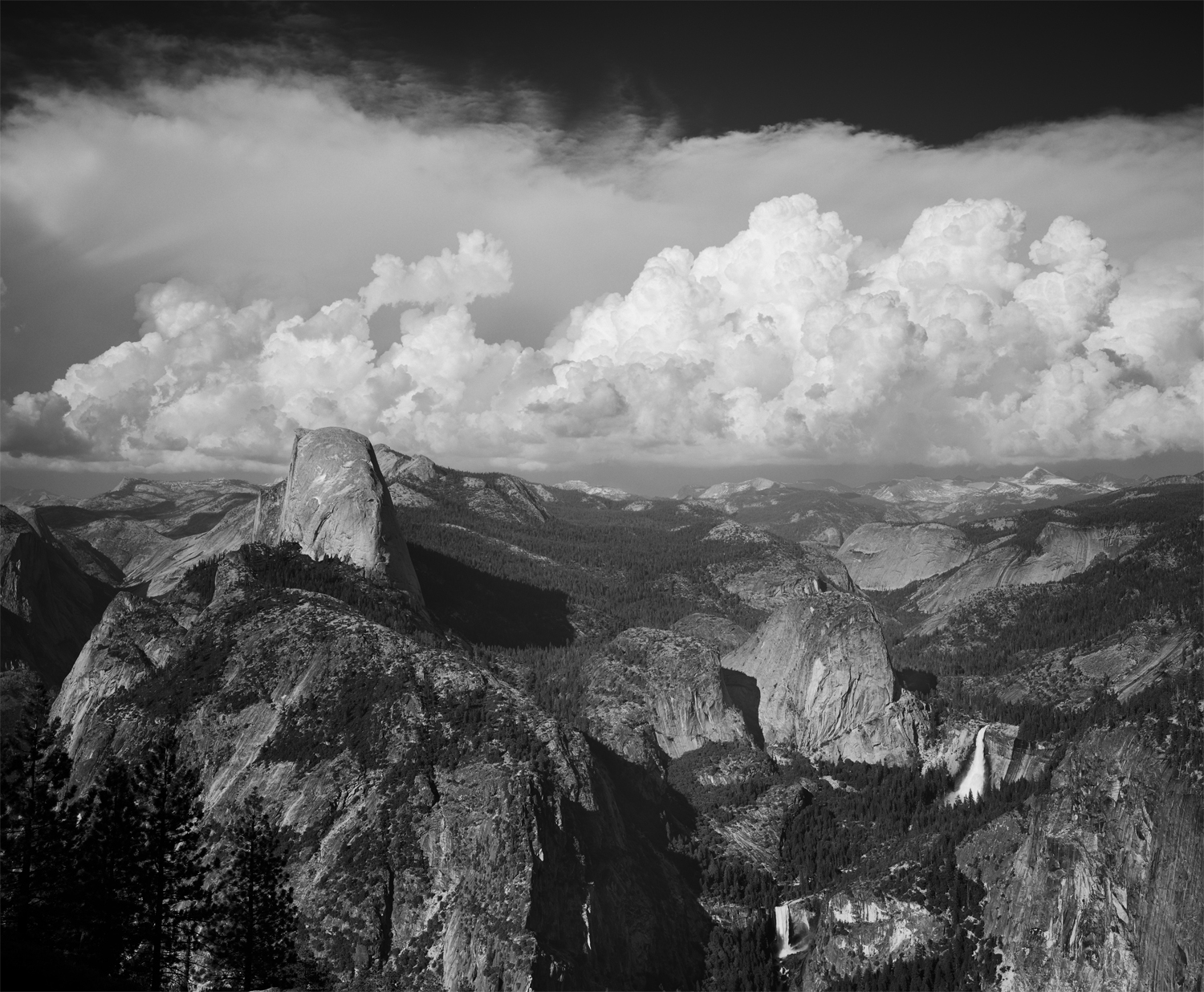 Yosemite From Washburn Point 2001