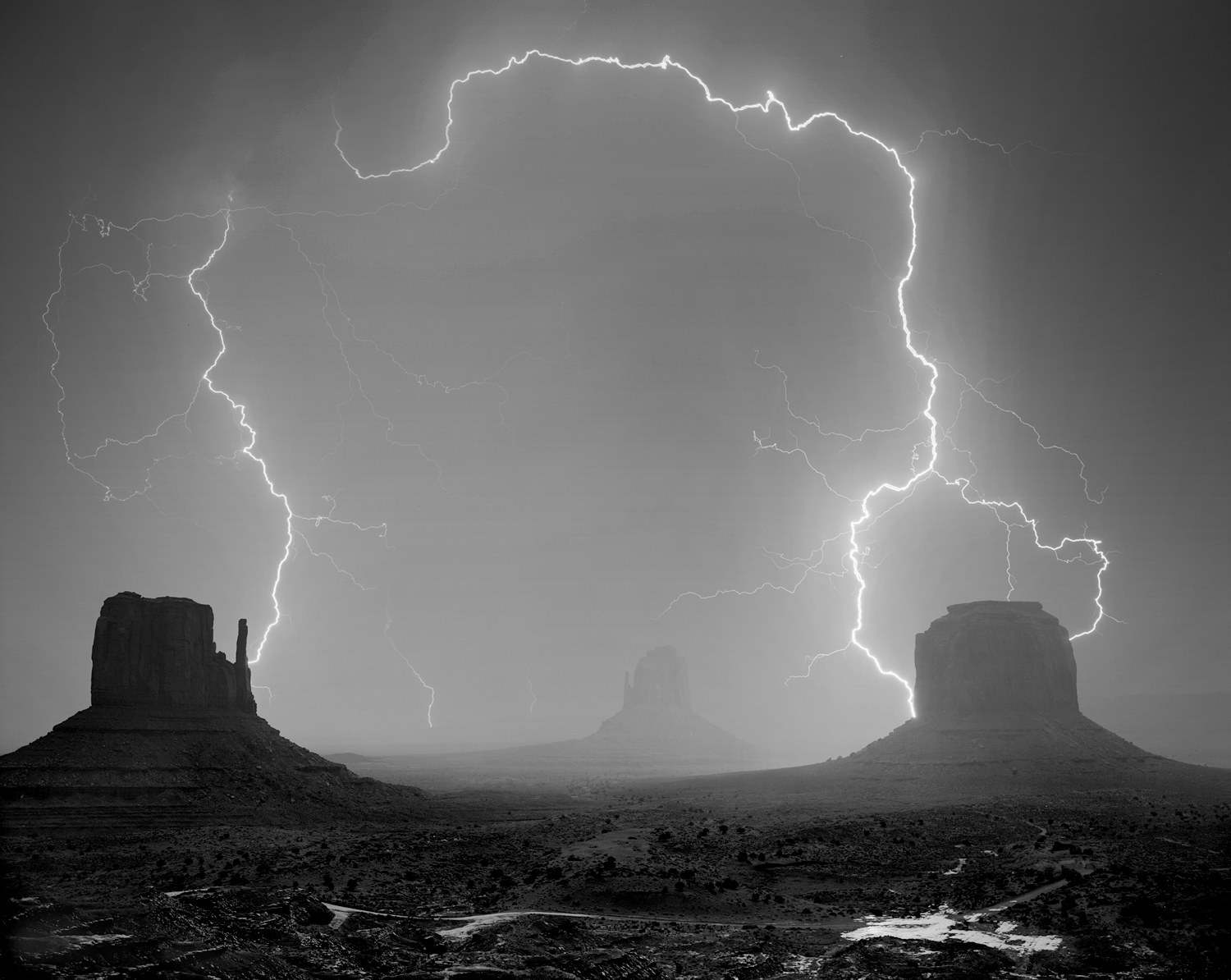 Monument Valley Lightning 2015
