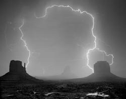 Monument Valley Lightning 2015