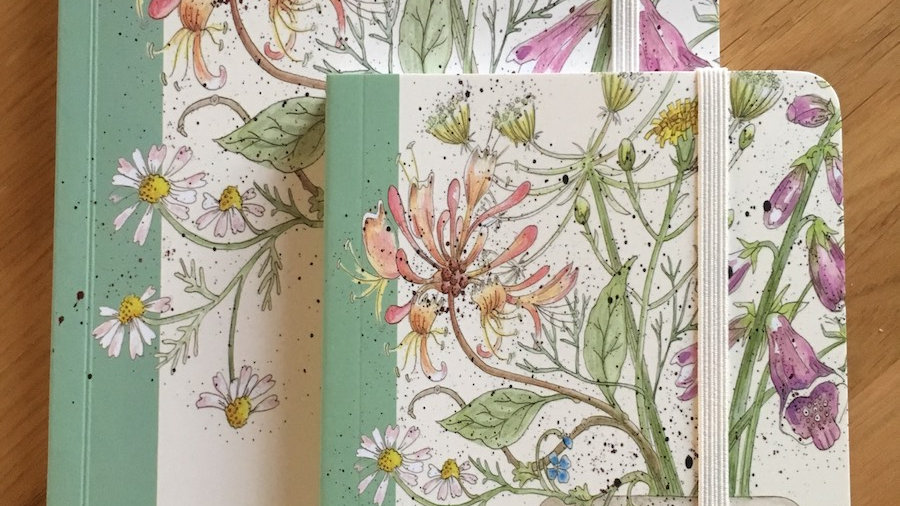 Honeysuckle A5 notebook