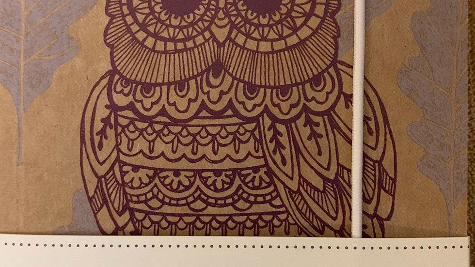 Owl A6 Notebook