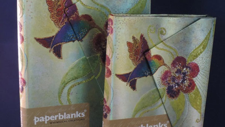 Hummingbird Paperblanks Midi Hardback Notebook
