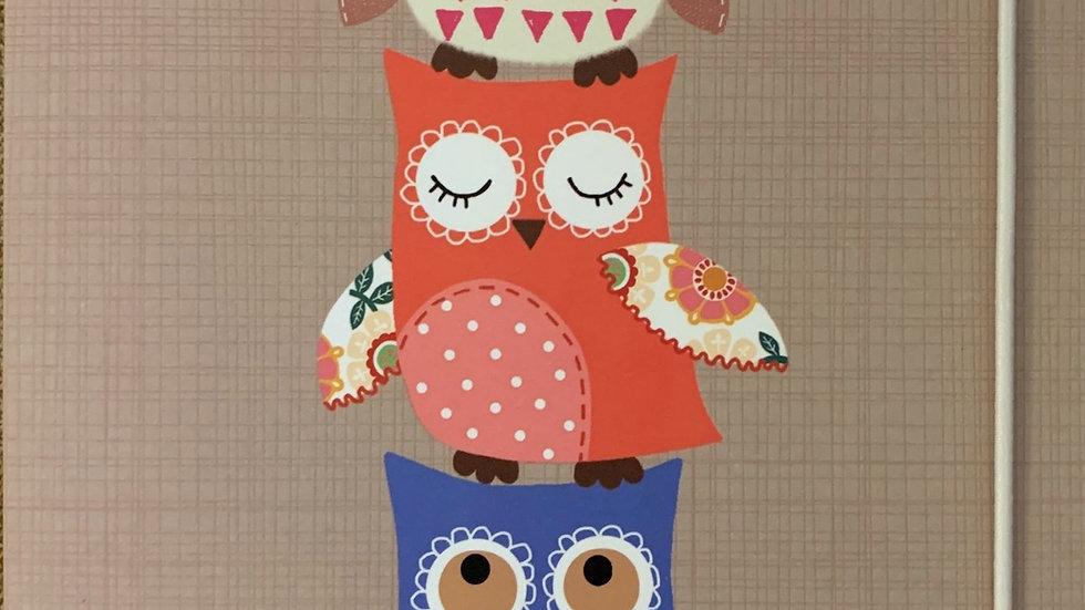A5 Little Owl Notebook