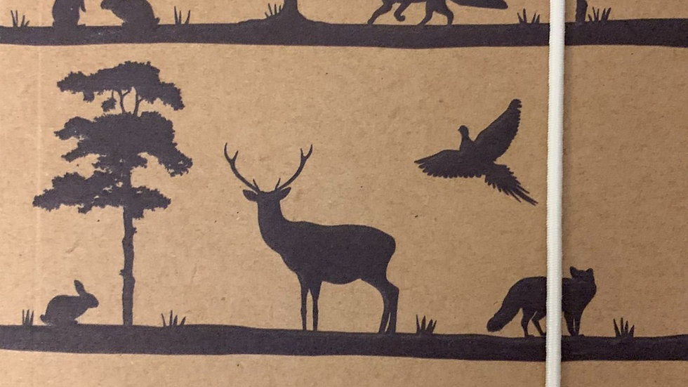 Woodland Trust A6 Silhouette Notebook
