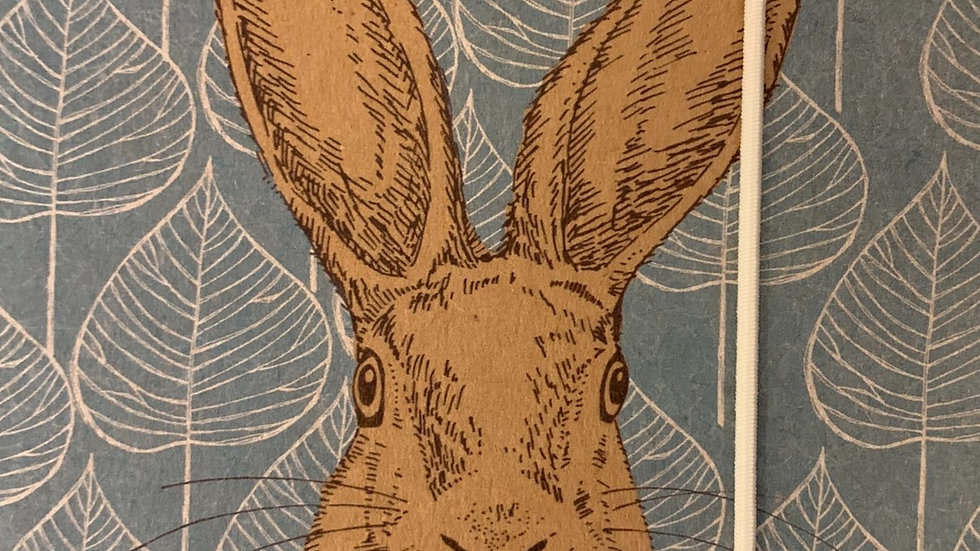 Woodland Trust A6 Hare Notebook