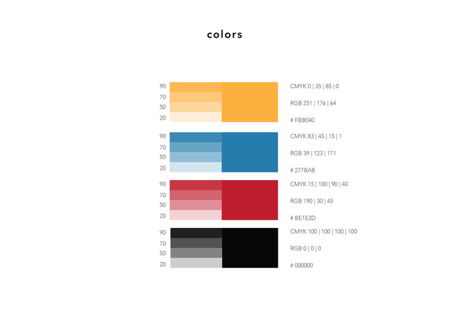 touch colors
