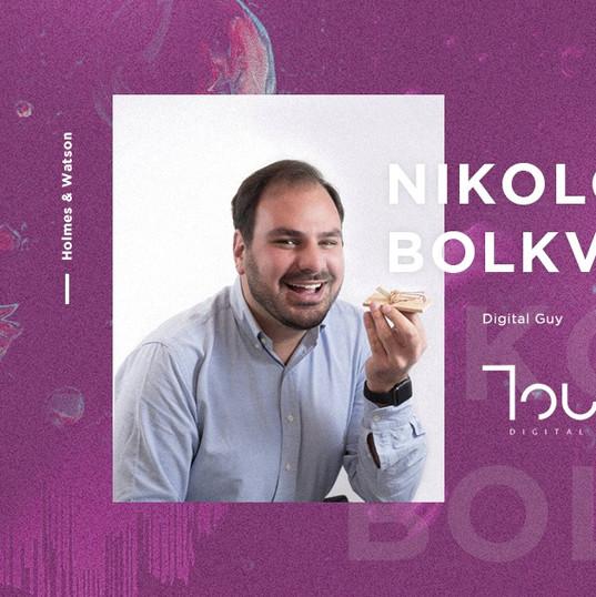Touch speaker - Nikoloz Bolkvadze