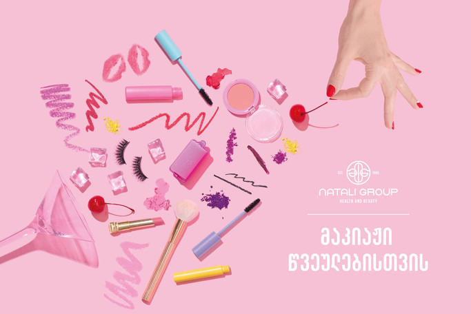 natali group - make up for party
