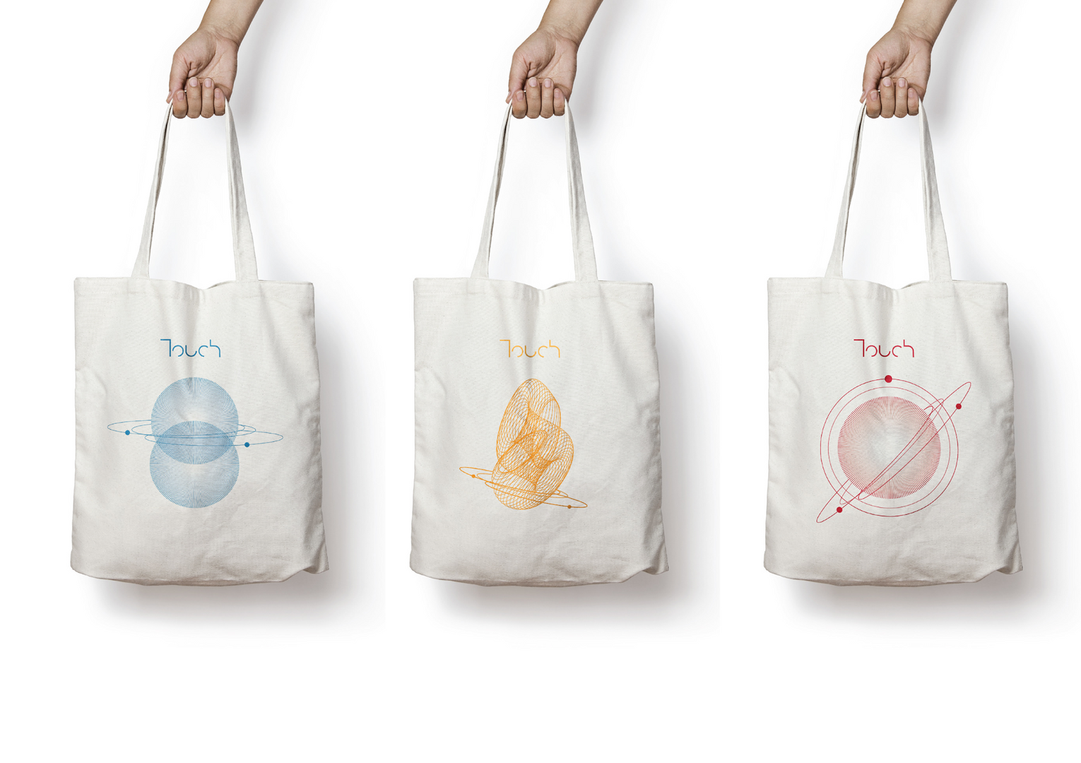 touch branded bags