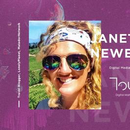Touch speaker - Janet Newenham