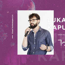 Touch speaker - Lukasz Kapusniak