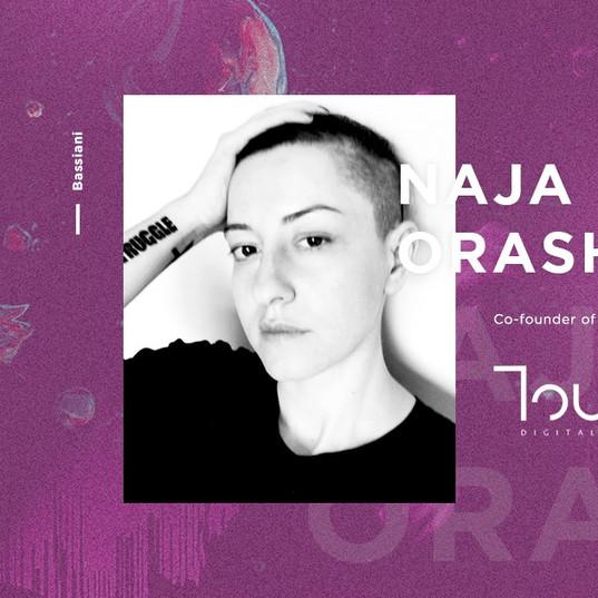 Touch speaker - Naja Orashvili
