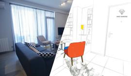 Diamond projects - living room