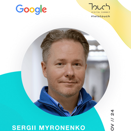 Touch speaker - sergii myronenko