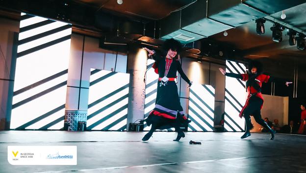 EuroDIG Georgia - sukishvili dance ballet