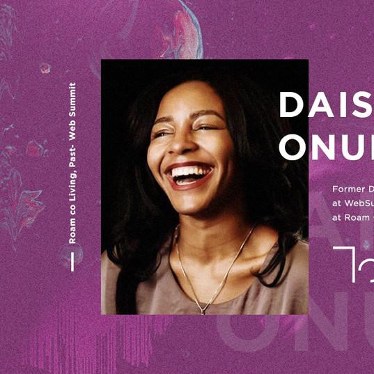 Touch speaker - Daisy Vera Onubogu
