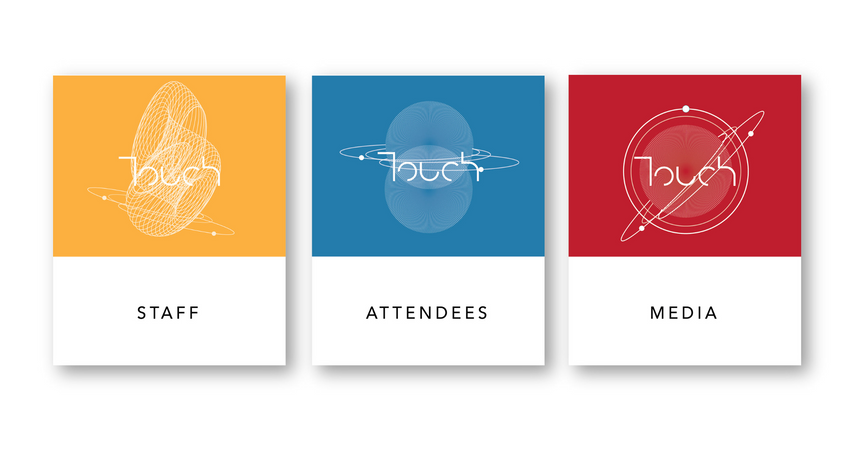 touch badge variations