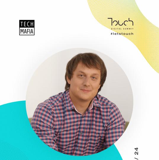 Touch speaker - Maxim Chebotarev