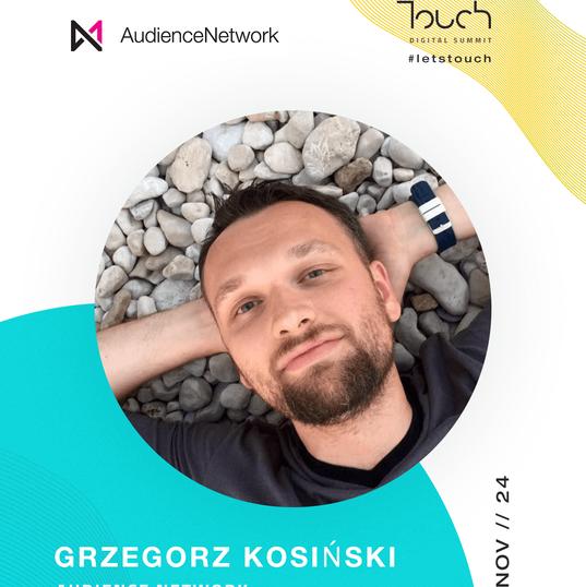 Touch speaker - Grzegorz Kosinski