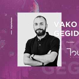 Touch speaker - Valerian Vako Gegidze