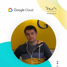 Touch speaker - google cloud