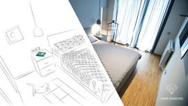 Diamond projects - room illustration