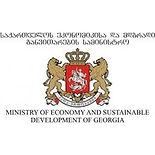 Ministry of economy and sustainable development of georgia logo