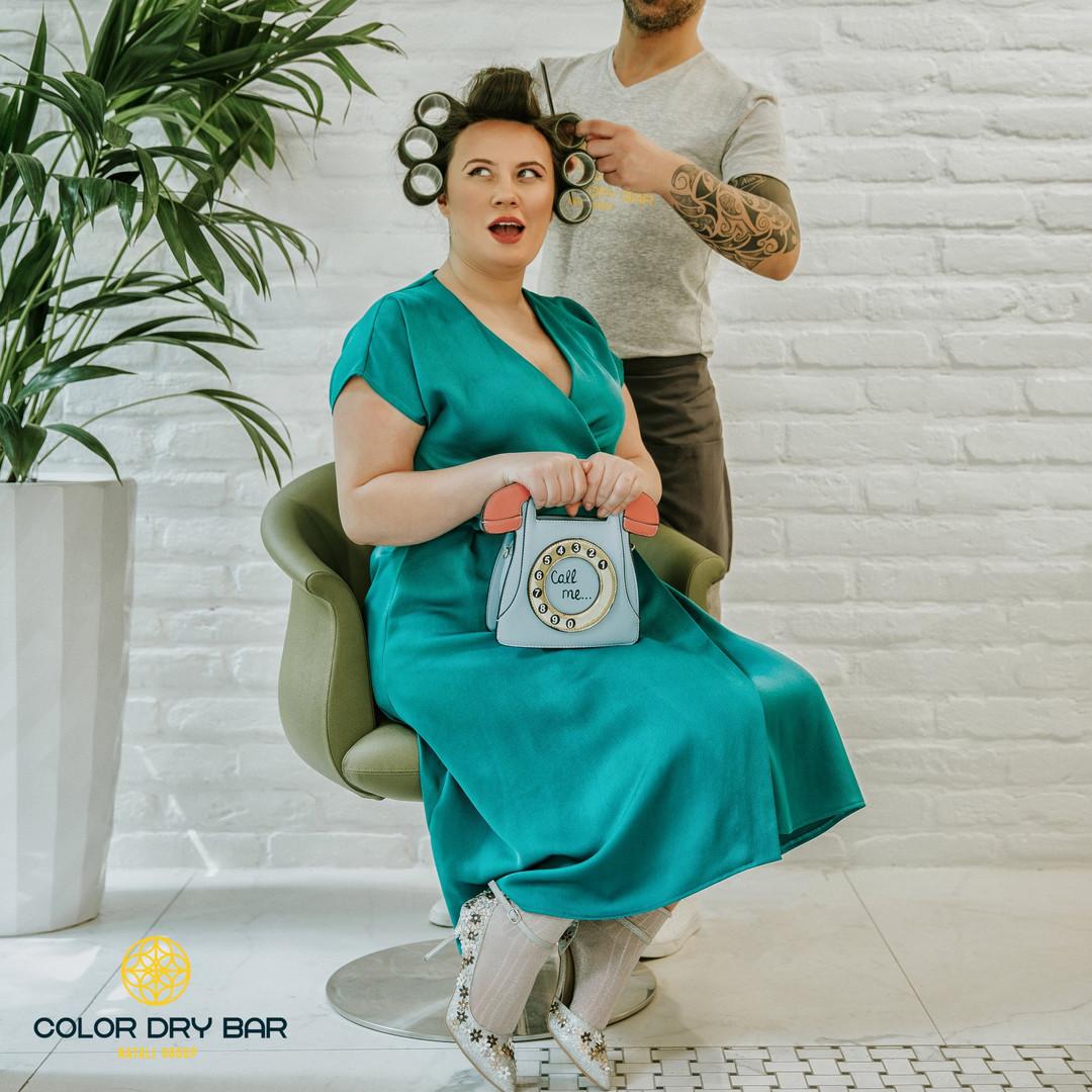 natali group: color dry bar - haircut