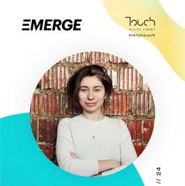 Touch speaker - Margo Lazarenkova