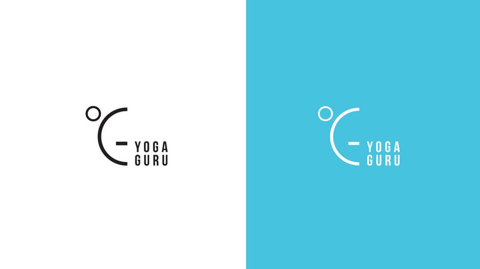 Yoga Guru logo variation