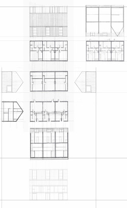 plan and elevation study
