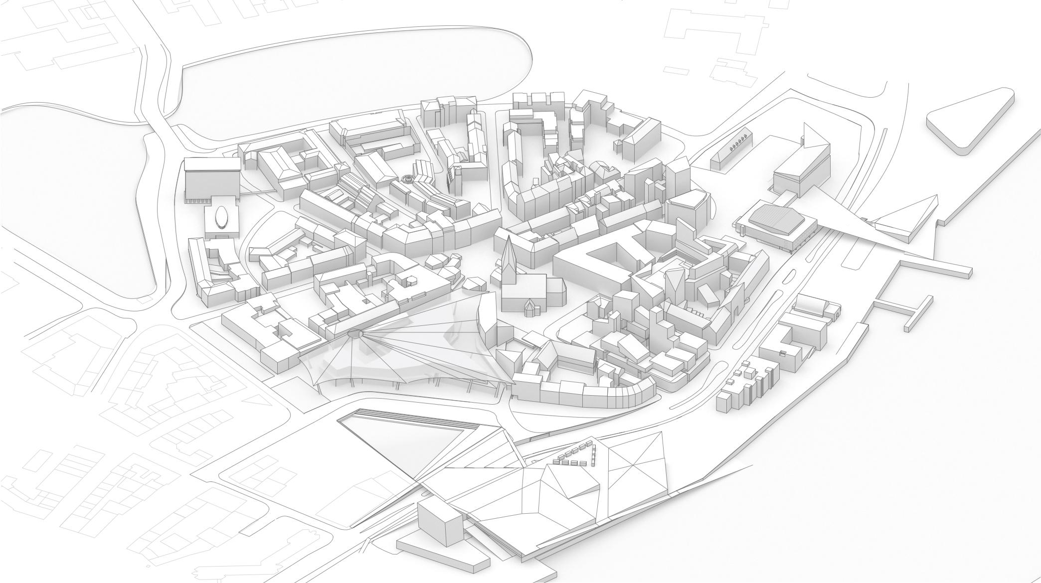 Proposed Kiel Altstadt 2050
