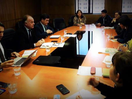 Reunión de FENASIC con Ministro Agricultura Antonio Walker