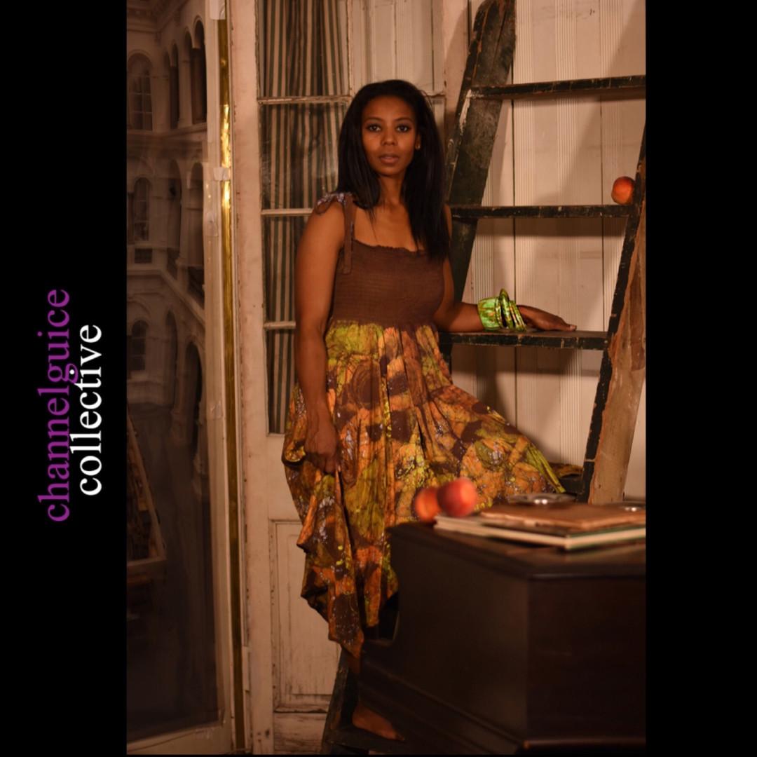 Batik Dress & Accessories